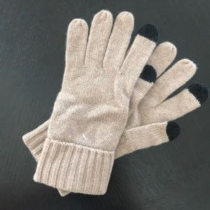 NEW Mark & Graham Touch Screen Cashmere Gloves